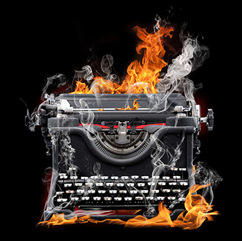 Flame Typewriter-sm